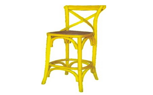 BARISTA (VBR-013) BAR CHAIR - SEAT: 760(H) -   YELLOW