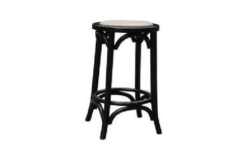 BARISTA (VBR-019-) KITCHEN STOOL - BLACK