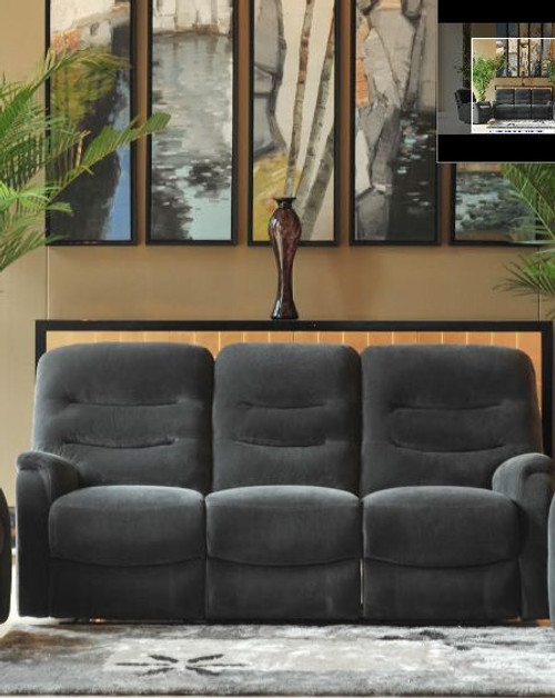 SHERRY 3 SEATER RECLINER  - ASSORTED COLOURS