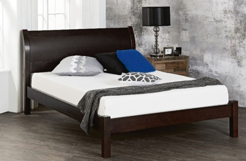 DOUBLE MARTHA BED - (MODEL: 12-9-14-4-1) - ASSORTED TIMBER COLOUR STAINS