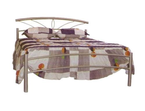 QUEEN OPAL METAL BED - ASSORTED COLOURS