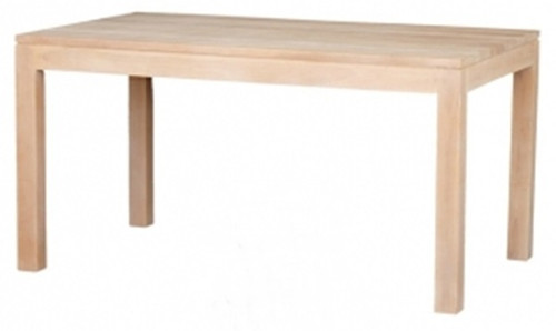 AMSTERDAM (DT 150 90 TA)  DINING TABLE - 1500(L) X 900(W)  - WASHED