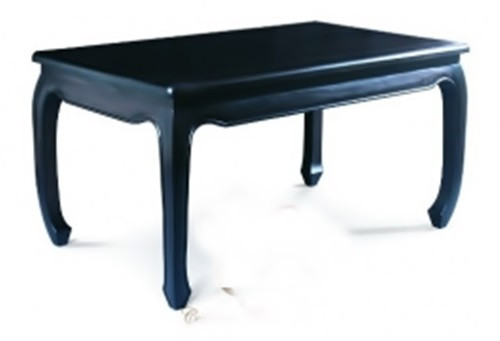CHINESE ( DT 180 95 OL) DINING TABLE - 1800(L) X 950(W) - CHOCOLATE