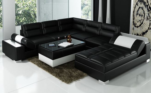TORRENFIELD  (L6001)  LOUNGE SUITE WITH COFFEE TABLE - CHOICE OF LEATHER AND ASSORTED COLOURS AVAILABLE