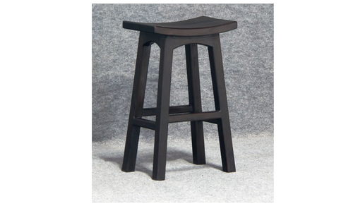 REGAL  WOODEN BAR STOOL (BR 077 WD) - SEAT: 770(H) - DARK CHOCOLATE