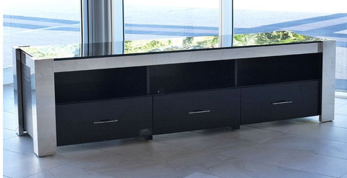 FRAN ENTERTAINMENT UNIT WITH 3 DRAWERS - 1800(W) x 500(D)