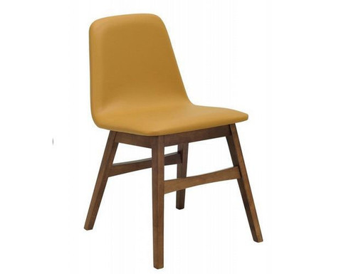 AVICE MODERN  DINING CHAIR (SET OF 2) -  CARAMEL