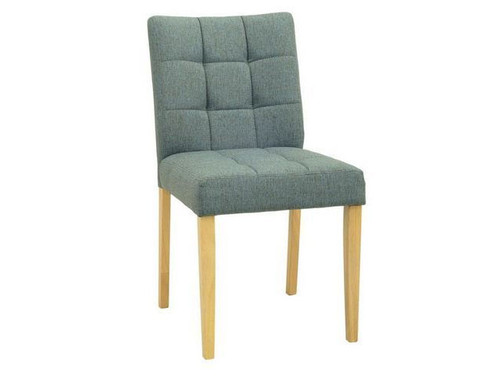 DAVIN FABRIC DINING CHAIR  -  WHALE
