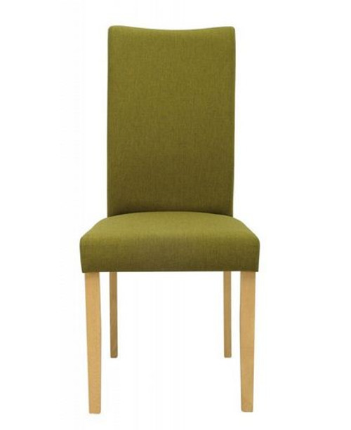 LAYLA  HIGH BACK LEATHERETTE DINING CHAIR (SET OF 2)  - OLIVE