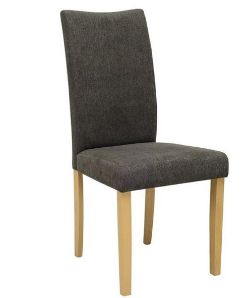 LAYLA  HIGH BACK LEATHERETTE DINING CHAIR (SET OF 2)  -  SEAL