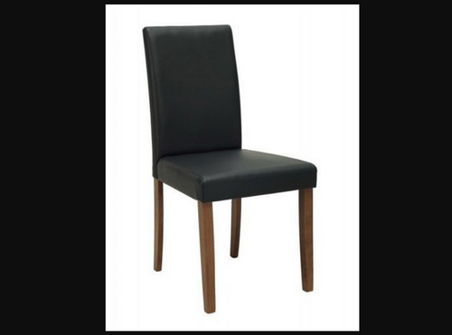 LENORE  MODERN LEATHERETTE DINING CHAIR (SET OF 2)  - ESPRESSO