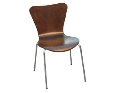 CLEMENT DINING   CHAIR  -  CHOCOLATE