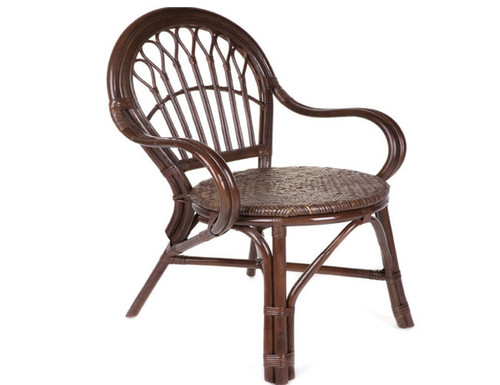 CAFE CHAIR  (DET804)   -  BROWN