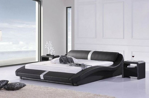 KING  MASOP  LEATHERETTE   BED  (CD033) - ASSORTED COLORS AVAILABLE