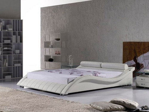 KING  PENDOX  LEATHERETTE   BED  (CD036) - ASSORTED COLORS AVAILABLE