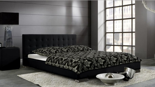KING DIVINE LEATHERETTE   BED  (CD064) -  ASSORTED COLORS AVAILABLE