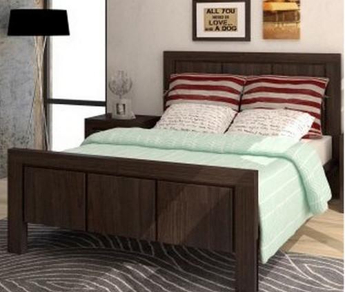 MACEDON QUEEN 3 PIECE  BEDSIDE BEDROOM SUITE (VMN) - CHARCOAL