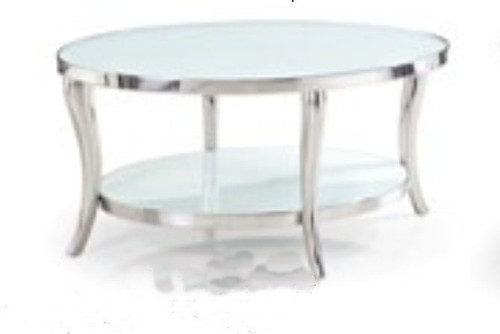 COMO OVAL SIDE TABLE - 900(L ) X 710(D) - CHOICE OF COLOURS