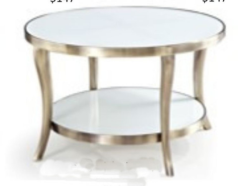 CANNES ROUND  SIDE TABLE 900(L ) X 710( W) -   CHOICE OF COLOURS