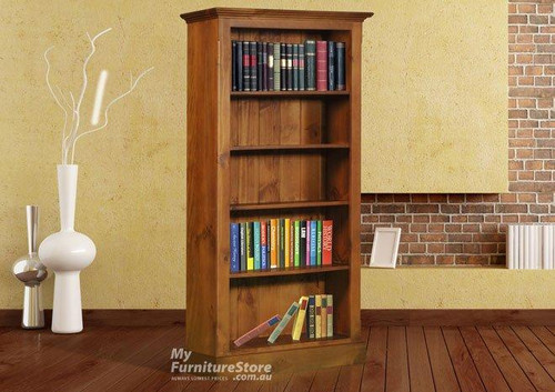 DRAGON BOOKCASE (7 X 3) - 2100(H) X 900(W) - ASSORTED COLOURS AVAILABLE