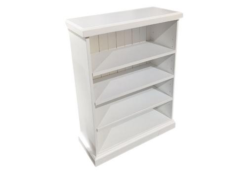 ALEXIA BOOKCASE - 900(H) X 600(W) - WHITE , ANTIQUE WHITE , WHITEWASH