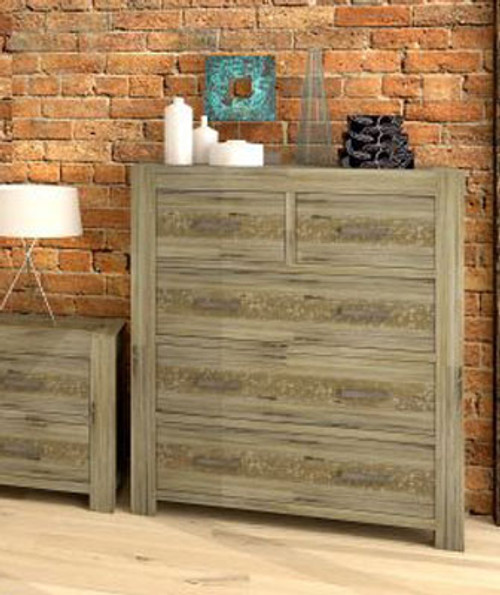 YARRA TALLBOY (VYR-006) WITH 5 DRAWERS - MOCCHA