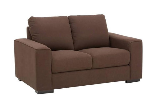ALBA 2 SEATER FABRIC LOUNGE - ASSORTED COLOURS
