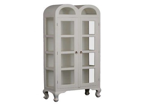 DOUBLE LARGE DOME 1900(H) X 800(W) DISPLAY CABINET (DC