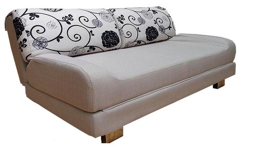 LEENA  FABRIC SOFA BED - CREAM