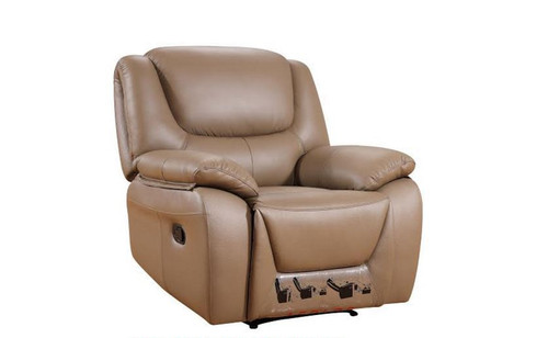ROMEO LEATHER/ETTE RECLINER CHAIR - LATTE, BLACK, FAWN OR DARK CHOCOLATE