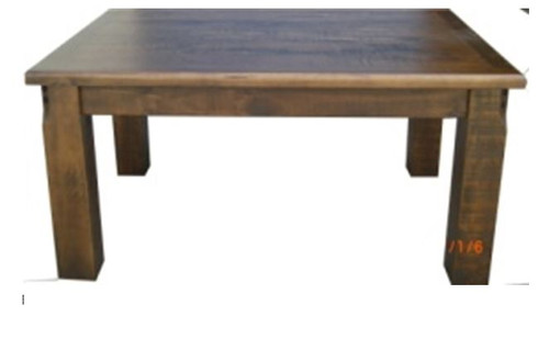 COBAR (COB18T) DINING TABLE 1800(L) X 1050(W) - ROUGH SAWED