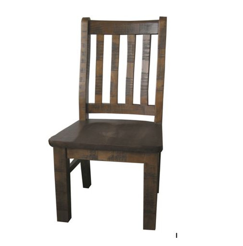 COBAR (COBDC) DINING CHAIR - ROUGH SAWED