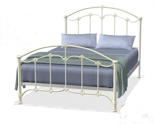 QUEEN  KINGSDALE  BED - ANTIQUE WHITE