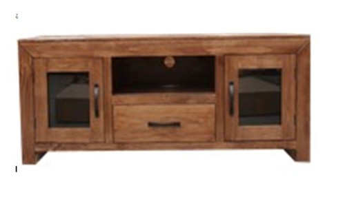 FRANK (UNIT 3) ENTERTAINMENT UNIT WITH 2 DOORS &  DRAWER  - 1420(W) -  BALTIC(#503) OR WALNUT (#400)