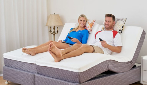 QUEEN FLEXICARE ELECTRIC MATTRESS - FIRM WITH MEMORY FOAM