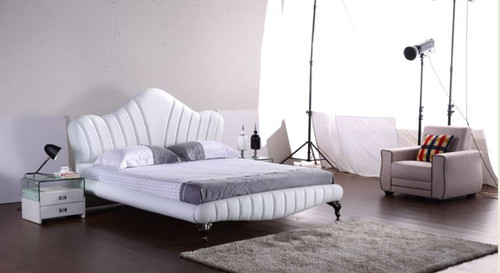 KING ASHLEY LEATHERETTE BED (G1067#) - ASSORTED COLORS