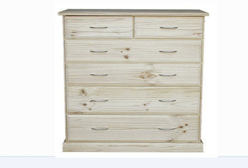 AVOCA CAV316 6 DRAWER TALLBOY - 590(D) - ASSORTED COLOURS AVAILABLE