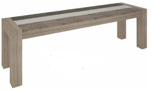 HIGHLAND 1500(L)  BENCH  (3-8-1-20-5-1-21) - BRUSHED & MULTI COLOR