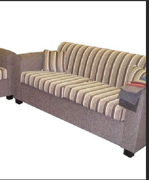 CARY 3 SEATER LEATHERETTE SOFA - ASSORTED COLOURS
