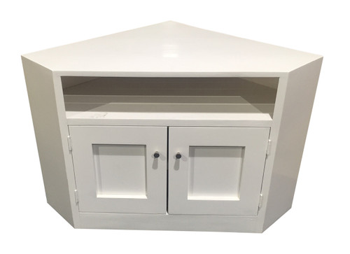 CLAUDE CORNER TV STAND - 1000(W) - ASSORTED PAINTED COLOURS AVAILABLE