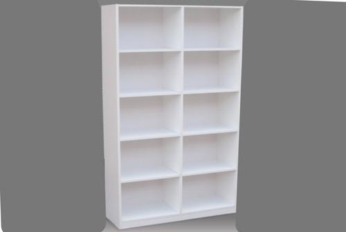 6FT BOX BOOKCASE (BOX6x3) - 1800(H) x 900(W) - ASSORTED COLOURS