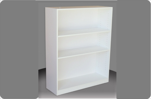 4FT HIGH BOOKCASE (4x18) - 1160(H) x 450(W) - ASSORTED COLOURS