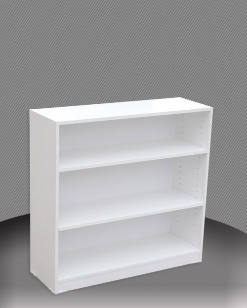 3FT HIGH BOOKCASE (3x4) - 860(H) x 1200(W) - ASSORTED COLOURS
