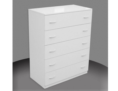 FAIRMONT 5 DRAWER / 450(W) WITH METAL RUNNERS (NOT AS PICTURED) - ASSORTED COLOURS