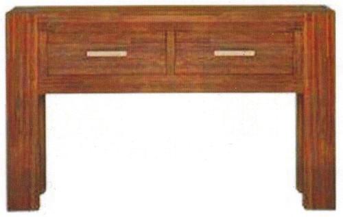 EMILY (2) TWO DRAWER ACACIA SOFA  TABLE - 820(H) X 1340(W x  380(D)