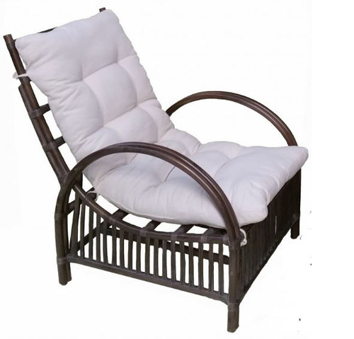 COLOMBUS  LAZY CHAIR (DET818) -  GREY