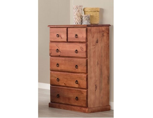 CARRINGTON (STANDARD) TALLBOY - 1200(H) X 900(W)- GOLDEN OAK