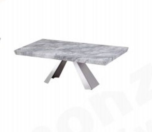HONDI  COFFEE TABLE -1250(W) X 700(D) - (MODEL 3-1-19-1) - GREY