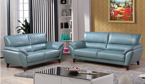 BELTERS  3 +1+ 1 SEATER   FULL LEATHER  LOUNGE SUITE  - (MODEL 6-12-15-185-14-3-5) - GREY