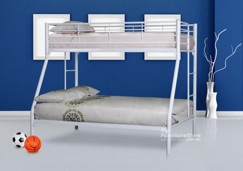 DARWIN TRIO BUNK BED - WHITE